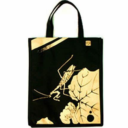 伊藤若冲 黒と金の世界 トートバッグ