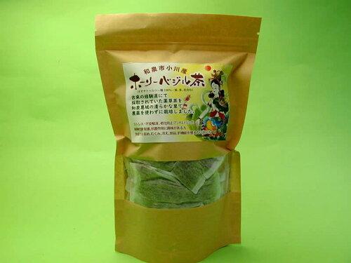 伯舟庵 和泉市小川産 ホーリーバジル茶40g【送料無料】