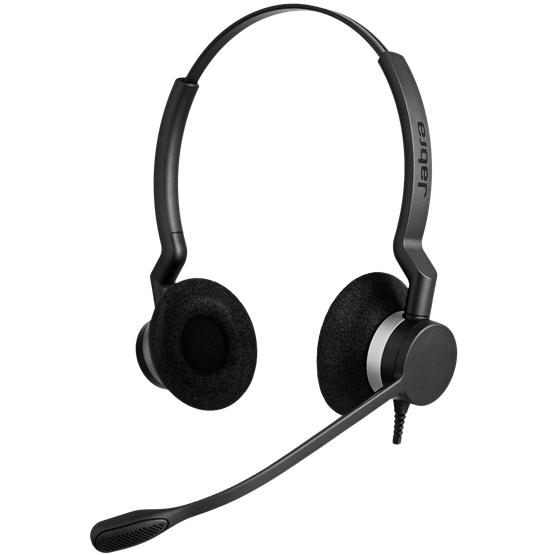 Jabra製ワイヤード(有線)ヘッドセット トップ部片耳タイプ Jabra BIZ 2300 DUO(2309-820-105)