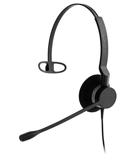 Jabra製ワイヤード(有線)ヘッドセット トップ部片耳タイプ Jabra BIZ 2300 Mono NC(2303-820-105)