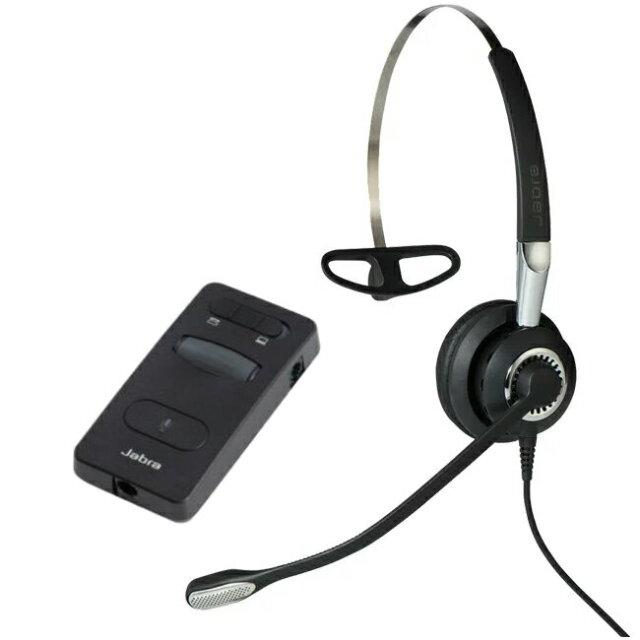 Jabra製ワイヤード(有線)ヘッドセット 片耳タイプ ヘッドセットパック Jabra BIZ 2400 II PACK(2402-860)
