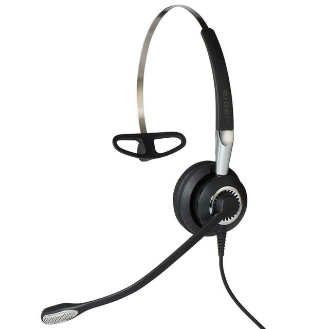 Jabra製ワイヤード(有線)ヘッドセット トップ部片耳タイプ Jabra BIZ 2400 II Mono NC W(2486-820-209)
