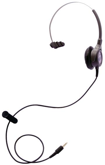 エンタープライズ製モニタリング専用ヘッドセット片耳タイプ(マイク無し)