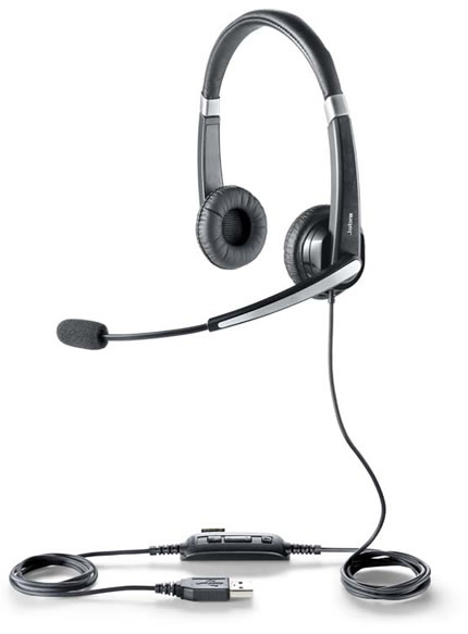 Jabra製USBヘッドセット Jabra UC Voice 550 duo 5599-829-209