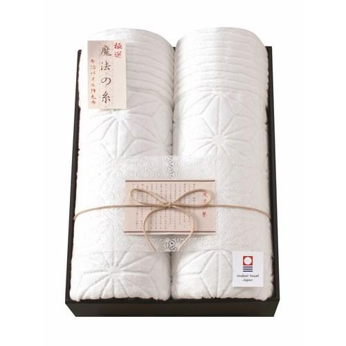 極選魔法の糸 今治製パイル綿毛布2P (AI-20020)
