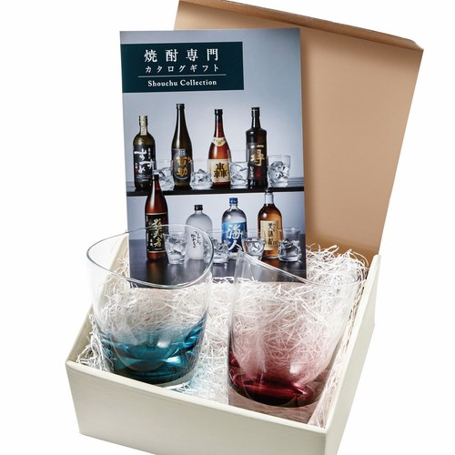 ひまり グラス+焼酎専門カタログギフト(B-03-041)