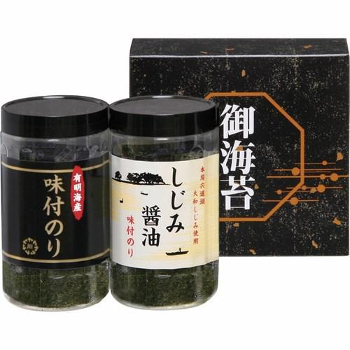 有明海産&しじみ醤油味付のり(B5043047)