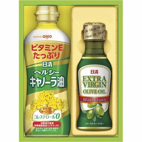 日清オイリオ オリーブオイル&バラエティオイルギフトセット(B5044016)