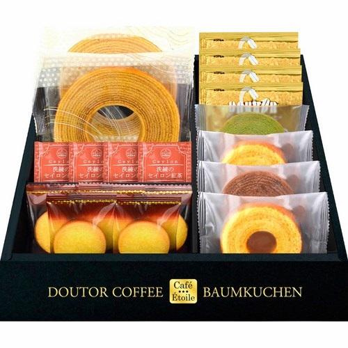 Cafe Etoile ドトールコーヒー&バウムクーヘンセット(B6107580)