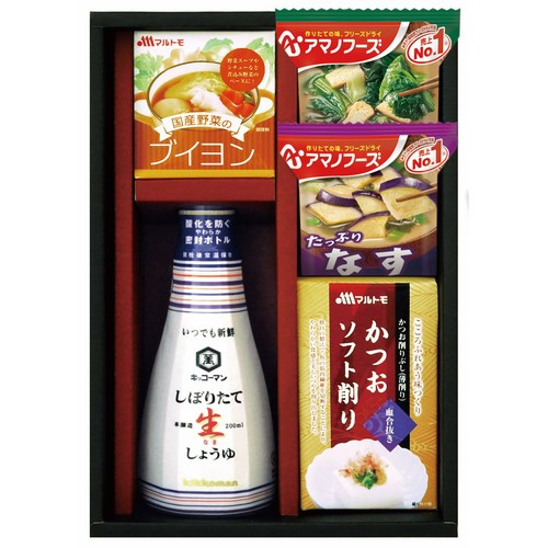 【送料無料】 キッコーマン・アマノフーズ キッコーマン&アマノフーズ食品アソート ( soumu_U17-01 )