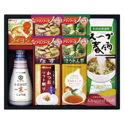 【送料無料】キッコーマン&アマノフーズ食品アソート(W25-04)