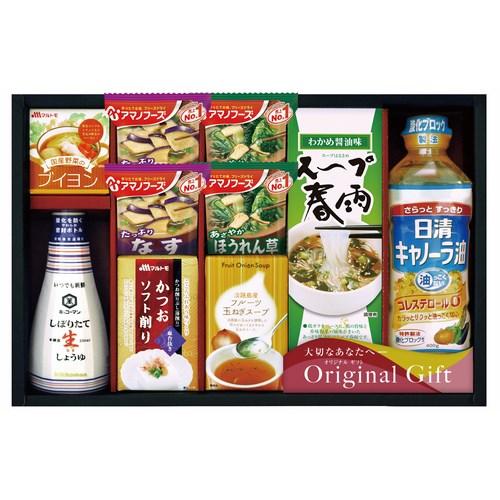【送料無料】キッコーマン&アマノフーズ食品アソート(W25-05)