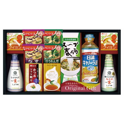 【送料無料】 キッコーマン・アマノフーズ キッコーマン&アマノフーズ食品アソート ( soumu_U17-06 )