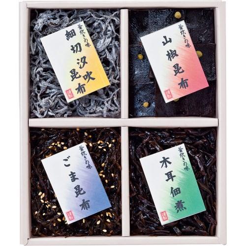 廣川昆布 御昆布 佃煮4品詰合せ(L5108534)