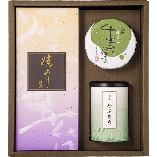 銘茶・焼海苔・のり佃煮 詰合せ(SNT-B)