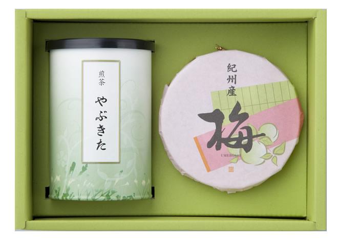 【30%OFF】銘茶・紀州梅干 詰合せ(U-A)
