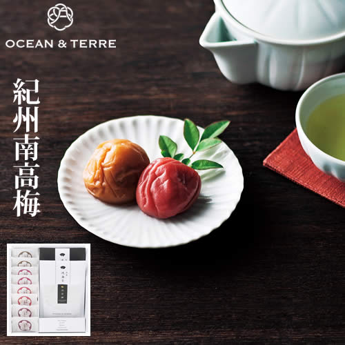 Premium紀州南高梅・浅草のり・煎茶セットA201