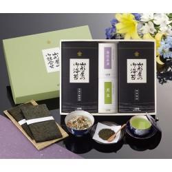 山形屋海苔店 焼海苔 味海苔 海苔茶漬 煎茶 詰合せ ( S-YBN-7N )