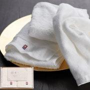 今治の贅沢なまっしろ 日本製 愛媛今治 タオルセット(63010)