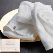 今治の贅沢なまっしろ 日本製 愛媛今治 タオルセット(63015)