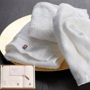 今治の贅沢なまっしろ 日本製 愛媛今治 タオルセット(63020)
