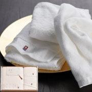 今治の贅沢なまっしろ 日本製 愛媛今治 タオルセット(63050)