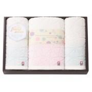 フワップ&ココ 無撚糸×天然水 日本製 愛媛今治 タオルセット(63840)