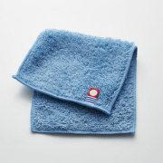 サスティナブルタオル 日本製 愛媛今治 ハーフハンカチ ブルー(64808)