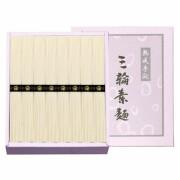 【 初盆 新盆用 返品可 】 手延べ三輪素麺 ( H60017 )
