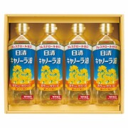 【 初盆 新盆用 返品可 】 オリジナル日清キャノーラ油セット ( H60505 )