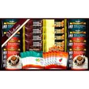 ビクトリア珈琲 酵素焙煎ドリップコーヒー&旨み紅茶・ドライワッフルセット(L5148537)