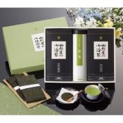 山形屋海苔店 焼海苔 味海苔 煎茶 詰合せ ( S-YBN-6N )