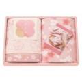 和のこころ さくら 甘撚りバイルのタオルセット 2P(62806)