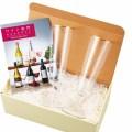 トパーズ グラス+ワイン専門カタログギフト(B-03-094)
