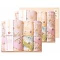 しまなみ匠の彩 白桜 タオルセット 国産木箱入 (BFK-100)