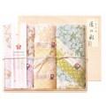 しまなみ匠の彩 白桜 タオルセット 国産木箱入 (BFK-30)