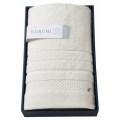 KURUMI 今治製パイル綿毛布(KUM-1555WH)