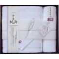 日本名産地 今治純白 バスタオル&ハンドタオル(L5009534)