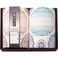 【送料無料】極選魔法の糸×オーガニック プレミアム五重織ガーゼ毛布2P(L5199578)