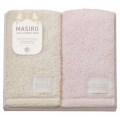 MASIRO Palette フェイスタオル2P イエロー・ピンク ( PAL-420-2 )