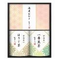 市田ひろみ 宇治茶ティーバッグ&米菓ギフト ( V10-02 )