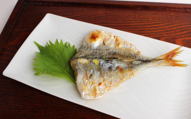 アジ中骨なし 焼き魚
