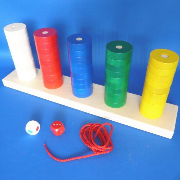 プラステン 木のおもちゃ 知育 玩具 数 ニック・ヴァルター