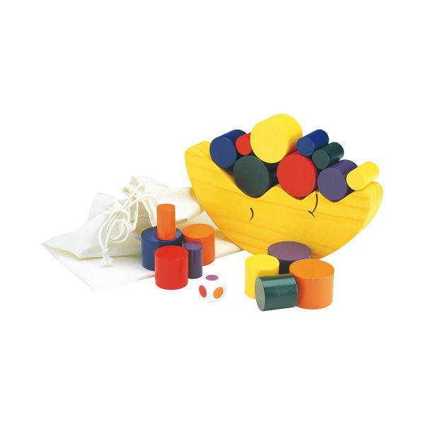 お月さまバランスゲーム 木のおもちゃ 積木 積み木 つみき 木製 知育 ゲーム