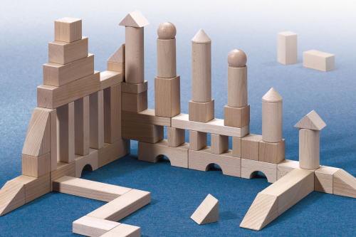 HABAブロックス スターターセット 大 木のおもちゃ 白木の積木 積木 積み木 つみき 木製 知育
