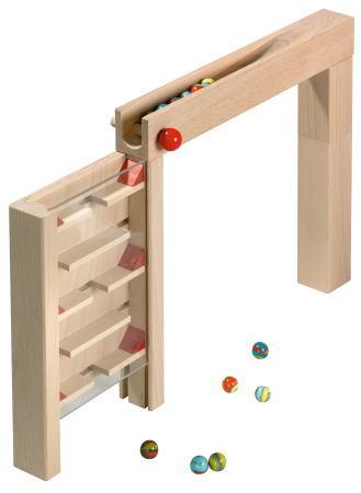 組立てクーゲルバーン ビルディングゲームセット 【おまけのビー玉5個付き】 木のおもちゃ 補助パーツ 積木 積み木 つみき 木製 知育