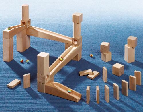 組立てクーゲルバーン スターターセット 【おまけのビー玉5個付き】 木のおもちゃ 積木 積み木 つみき 木製 知育