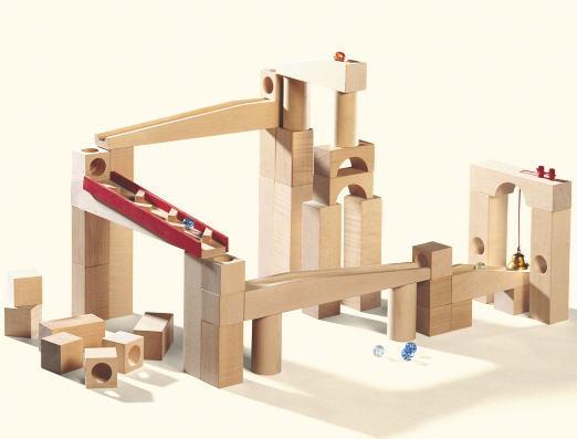 組立てクーゲルバーン スペシャル 【おまけのビー玉5個付き】 木のおもちゃ 積木 積み木 つみき 木製 知育