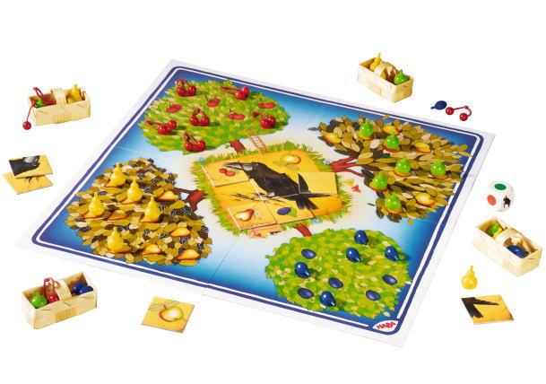果樹園ゲーム ボードゲーム 知育 玩具 ハバ HABA ゲーム