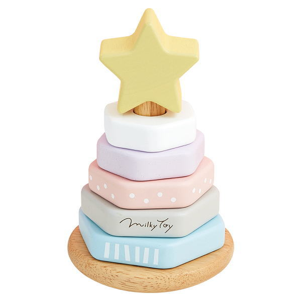 MilkyToy Dreamy Tree ドリーミィーツリー 木のおもちゃ ベビー用 あかちゃん 木製 知育 玩具